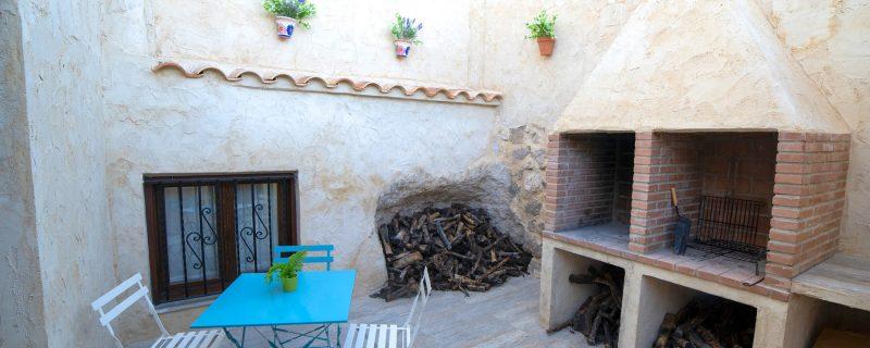 Casa rural con barbacoa en Alcalá del Júcar